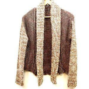 Moth Marled Woodhouse sweater Anthropology XS